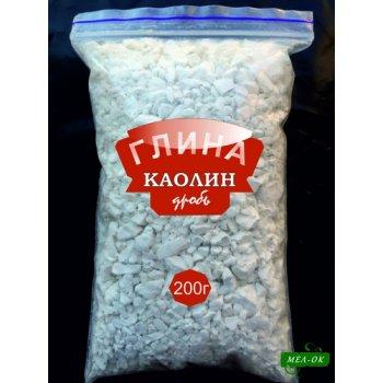 Глина Каолин дробь, пакет 200 г