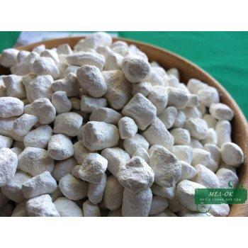 Глина БЕЛАЯ каолин в гранулах, пакет 1 кг